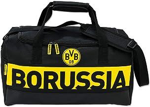 Borussia Dortmund BORUSSIA-sporttas, zwartgeel, één maat