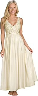 Shadowline Women's Silhouette 53 Inch Sleeveless Long Gown