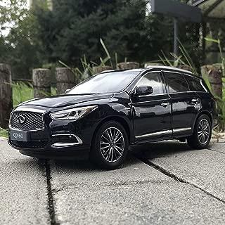 PENGJIE-Model 1:18 2017 Infiniti QX60 Car Model SUV Model (Color : Black)