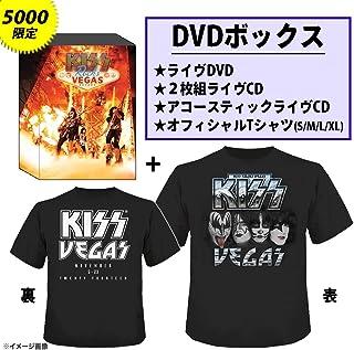 キッス・ロックス・ヴェガス【5000セット完全限定生産DVD+2枚組CD+アコースティックCD+Tシャツ(Lサイズのみ)(日本先行発売/日本語字幕付き/日本語解説書封入)】