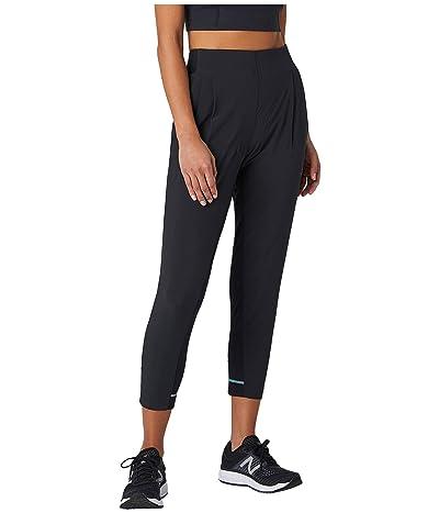 New Balance Q Speed Run Crew Pants (Black) Women