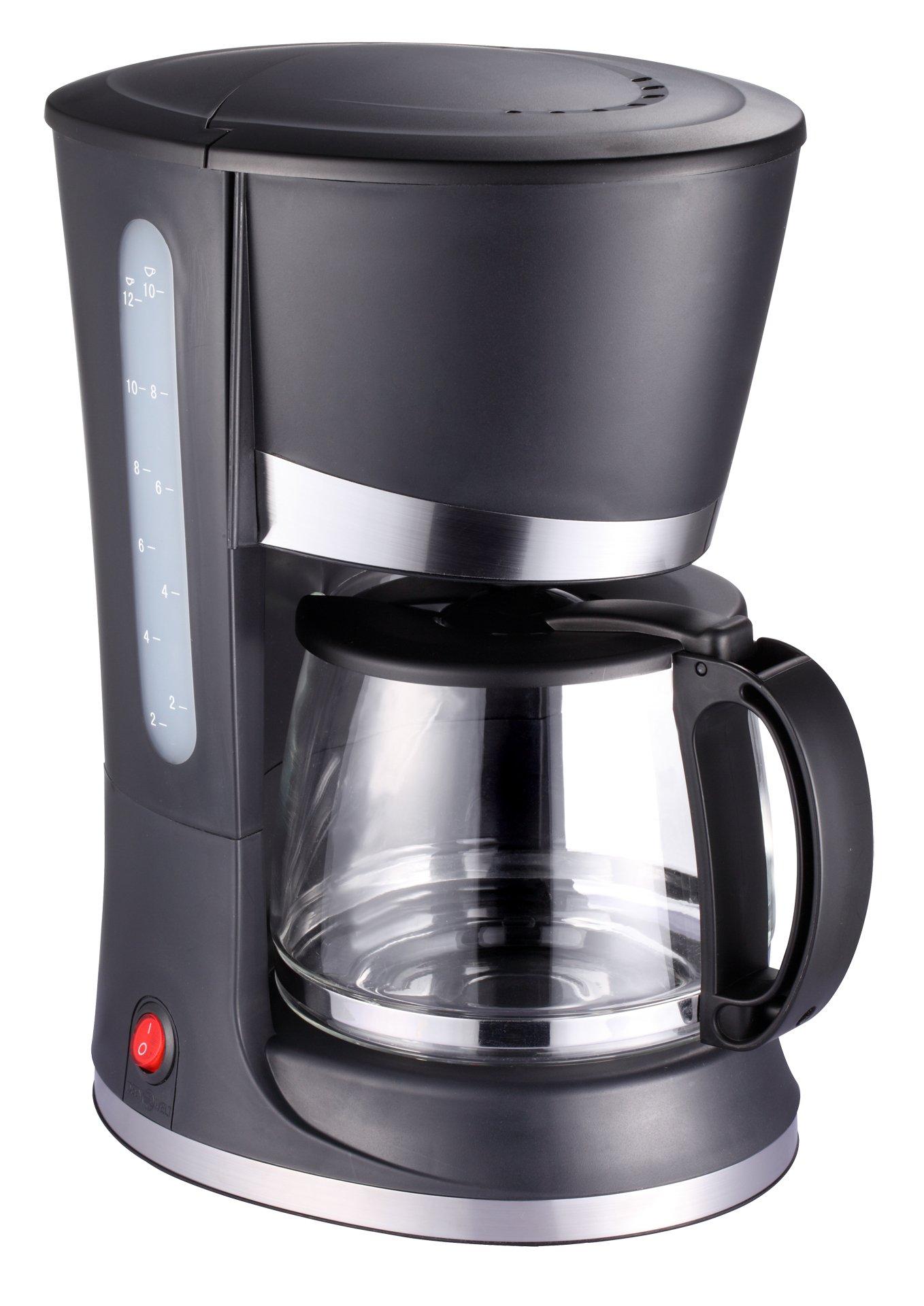 Melissa 16100076 Independiente Totalmente automática - Cafetera (Independiente, Cafetera de filtro, 1,2 L, De café molido, 800 W, Negro): Amazon.es: Hogar