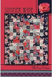 Summer Wine Quilt Pattern by Villa Rosa Designs