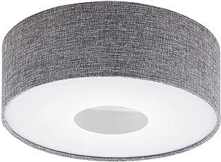 EGLO ROMAO - Lámpara de techo, acero, 15,5 W, color blanco