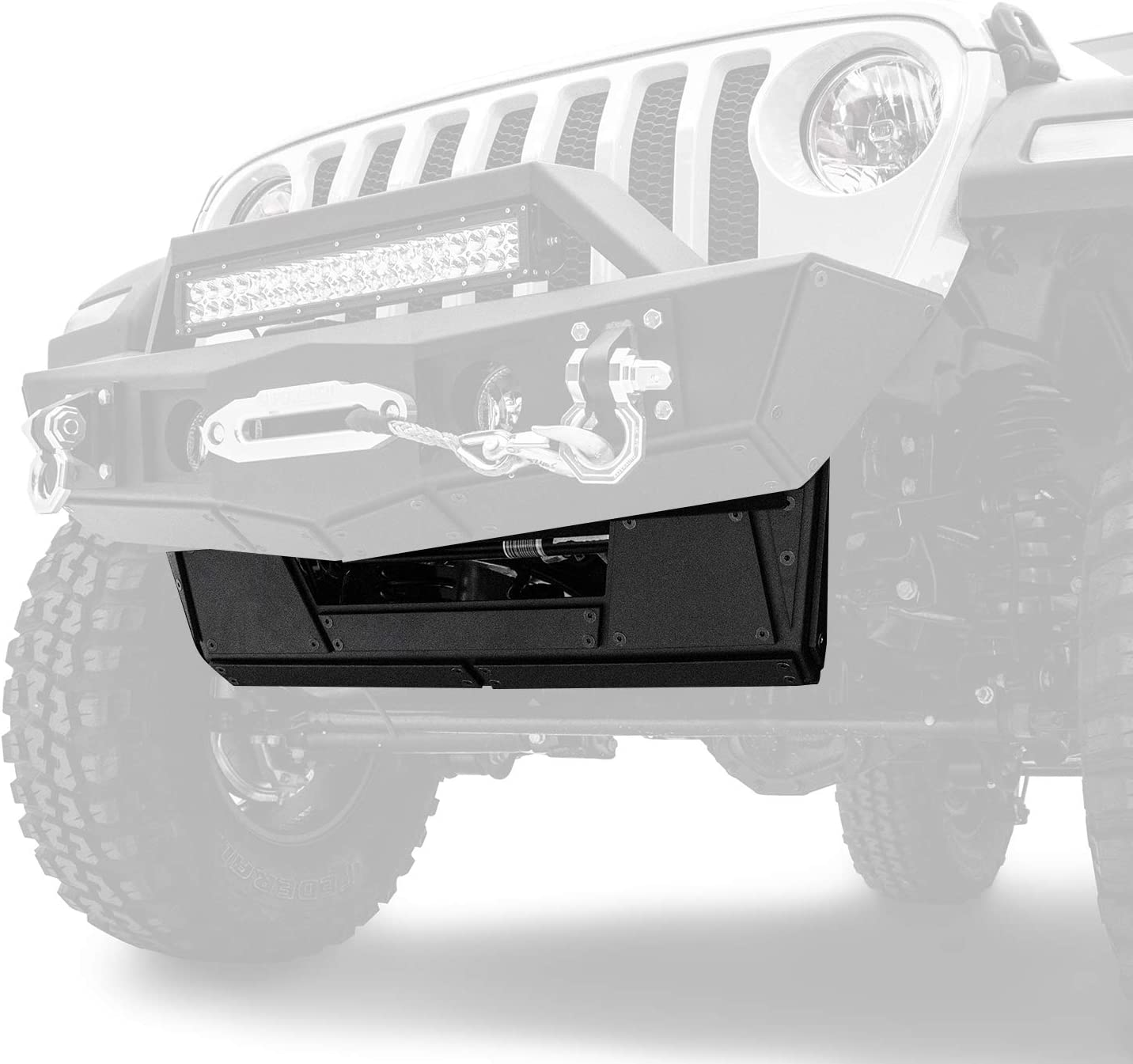 Razer Auto Plate Armor Skid for trend rank Up and Jeep Mesa Mall 18 Wrangler JL