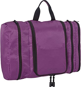 eBags Pack-it-Flat Large Hanging Toiletry Bag and Kit