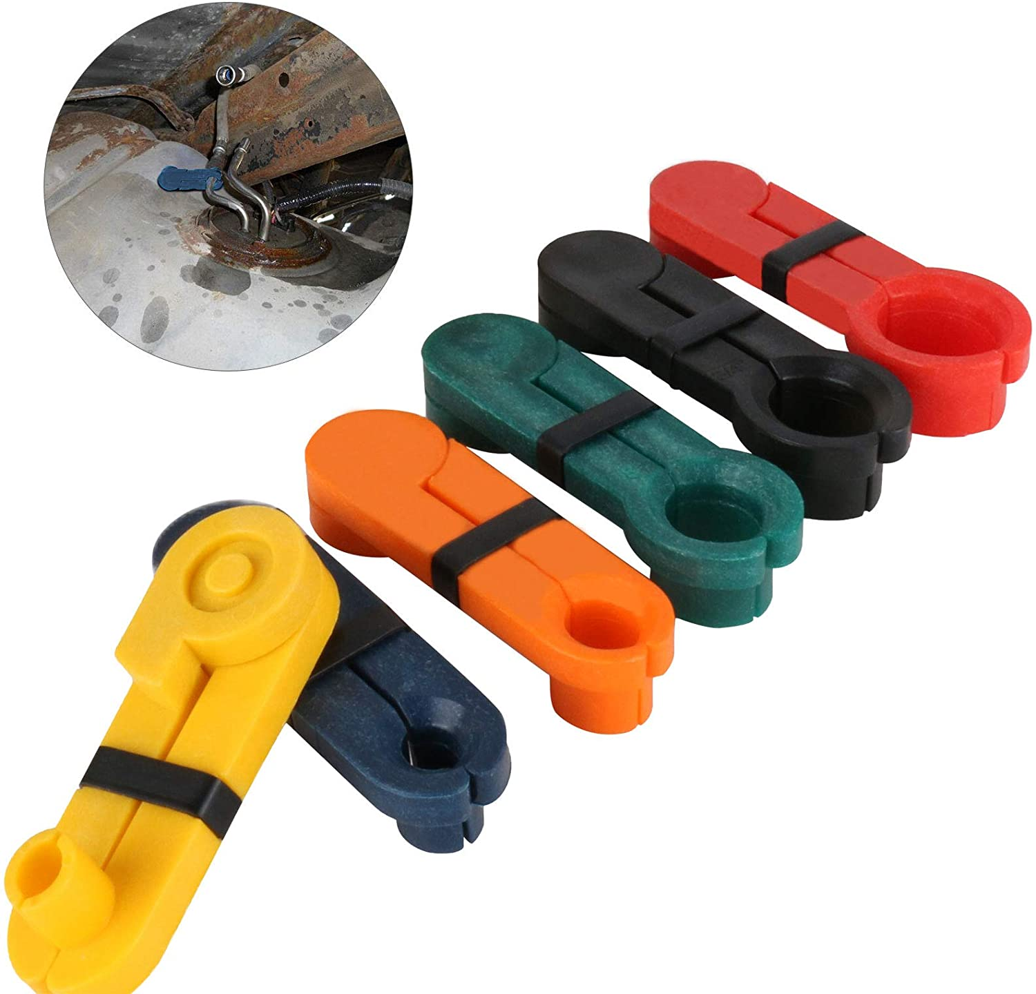 GOGOLO 6pcs Fuel Line Disconnect Tulsa Mall Removal Tool 16-7 2021 spring and summer new Set 5 8inch