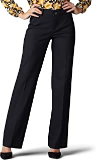 LEE Women's Petite Flex Motion Regular Fit Trouser Pant