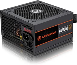 ARESGAME Power Supply 650W 80+ Bronze Certified PSU