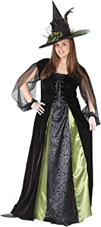 plus size green witch costume