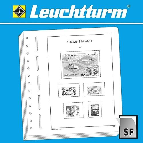 gran selección y entrega rápida Leuchtturm Leuchtturm Leuchtturm SF-Hojas preimpresas Finlandia 2015-2017  venta al por mayor barato