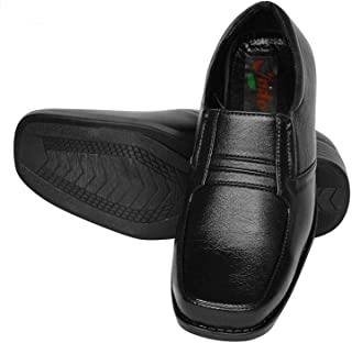 Indo Black Vegan Formal Shoes - SAY NO to LEATHER-PRN0001NL