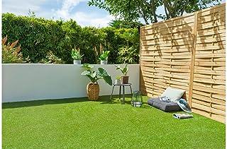 Cesped artificial terraza exterior California - rollo cesped artificial 2x5m 20mm de altura con alta densidad - calidad pr...