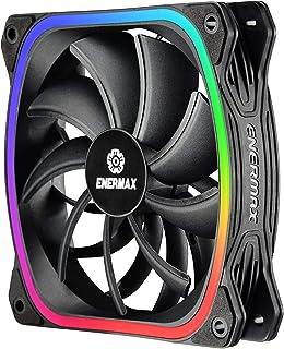 Ventilateurs 120mm RGB LED Carrés pour Boîtier PC ultra silencieux Design Haut de gamme ENERMAX Squa RGB Adressable (UCSQA...
