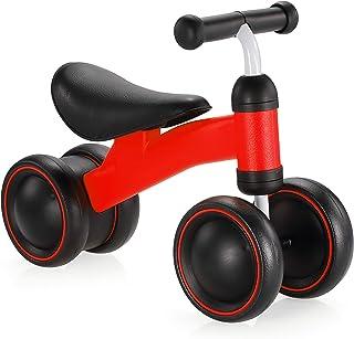 دراجة بيبي بالانس للأطفال من 12 إلى 36 شهرًا، دراجة ثلاثية العجلات للأطفال في سن 1 سنة أو العاب ركوب كهدية لعيد الميلاد لم...