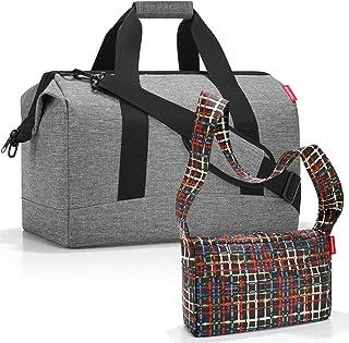 reisenthel Allrounder L Reisetasche Sporttasche mit Zugabe Twist SilverWool