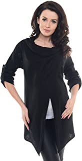 Purpless Maternity 2in1 Pregnancy and Nursing Cardigan Knitted Jumper for Pregnant Breastfeeding Woman Top Jacket 9001/5