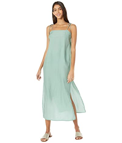 MIKOH SWIMWEAR Okayama Silk Slip Cover-Up Dress (Maui Meadow) Women