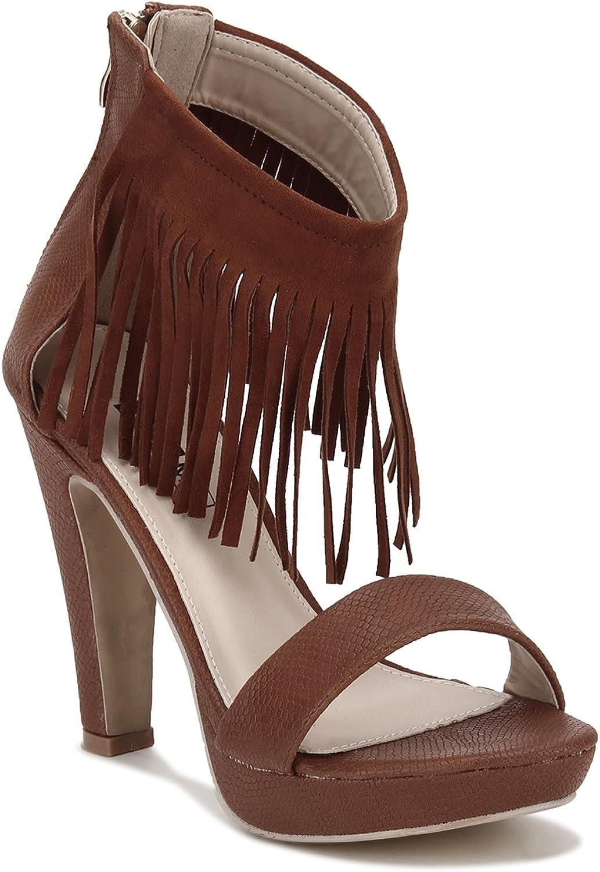 Yepme High Heel Sandals - Brown