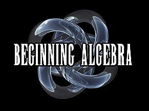 Algebra I (Beginning Algebra)