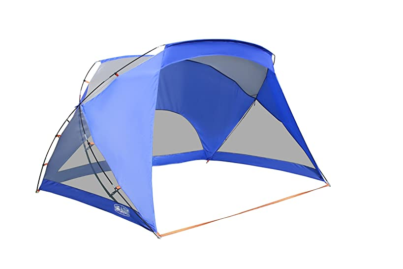 ALPHA CAMP 3 Person Sports/Beach Shelter Easy Up Sun Shade - 9' x 6'