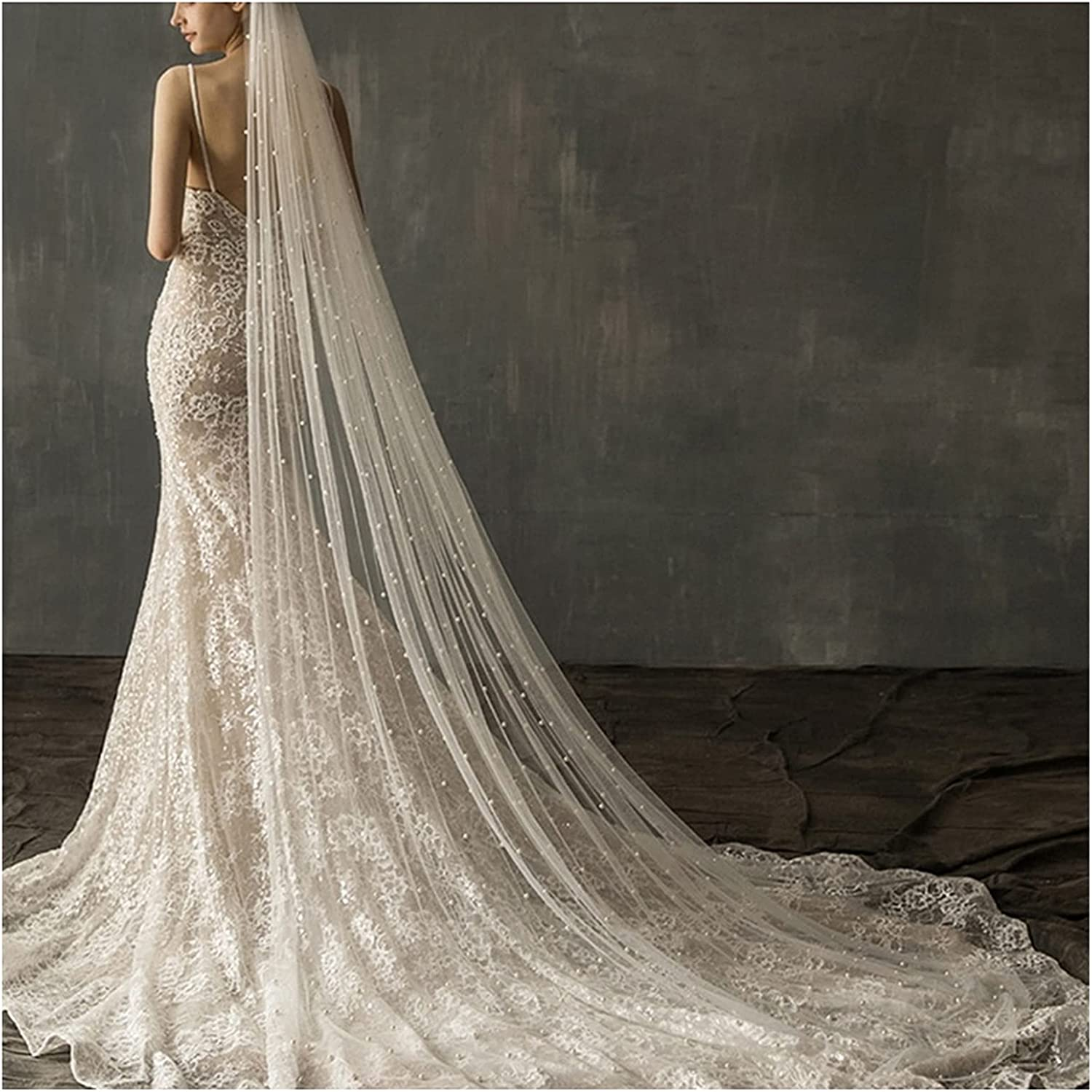 Max 71% OFF All items in the store YYOBK Ts White Ivory Two-Color Bridal Wedding Ve Optional Church