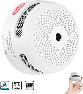 X-Sense Mini détecteur d'incendie avec 10 Ans d'autonomie, détecteur de..