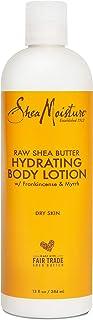 لوسیون بدن مرطوب کننده Sheamoisture برای پوستهای خشک خام Shea Butter Paraben Free Lotion 13 oz