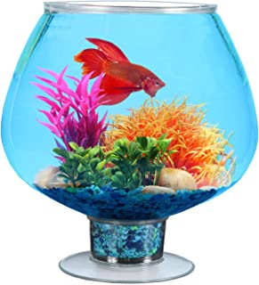 Koller Products 1.7 Gallon Fish Bowl - Impact-Resistant Plastic