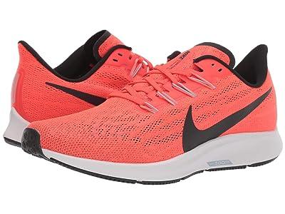 Nike Air Zoom Pegasus 36 (Bright Crimson/Black/Vast Grey) Men