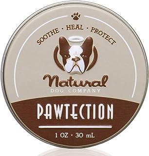 Natural Dog Company - PawTection | Protect Dog's Paw Pads, Perfect for Hot Asphalt, Salt, Snow | Organic, Vegan 1 OZ 4T-97...