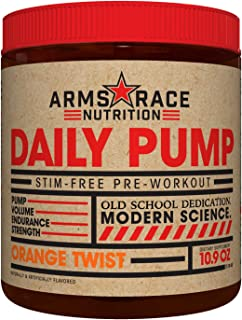 Arms Race Nutrition Daily Pump - Orange Twist
