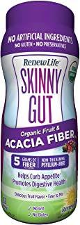 Renew Life Skinny Gut Organic Fruit and Acacia Fiber Powder, 9 Ounce