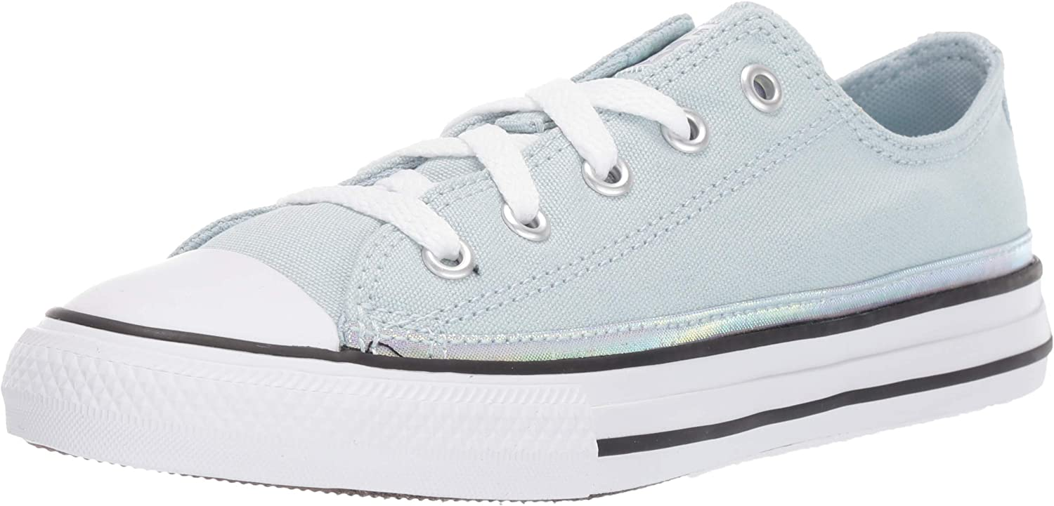 Converse Unisex-Child Chuck Taylor Discount mail order All Trim Top Star Low Sparkle Limited time cheap sale