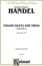 handel vocal duets