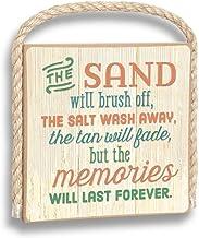 product image for Imagine Design Memories Will Last Forever Gone Coastal Plaque