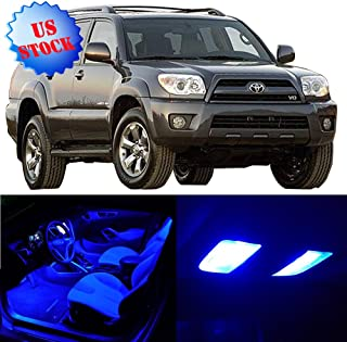 SCITOO LED Interior Lights 12pcs Blue Package Kit Accessories Replacement for 2003-2017 Toyota 4Runner