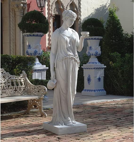 XoticBrands 32 Venetian Hebe Goddess Sculpture Statue Figurine