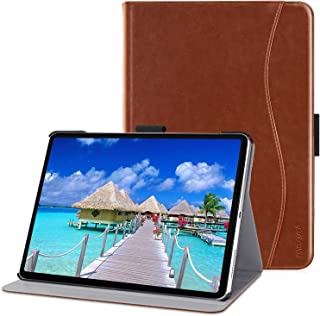 MOSISO 2018 iPad Pro 11 inch Case,PU Leather Stand Folio Protective Tablet Cover with Pencil Holder&2 Multi-Viewing Gears ...