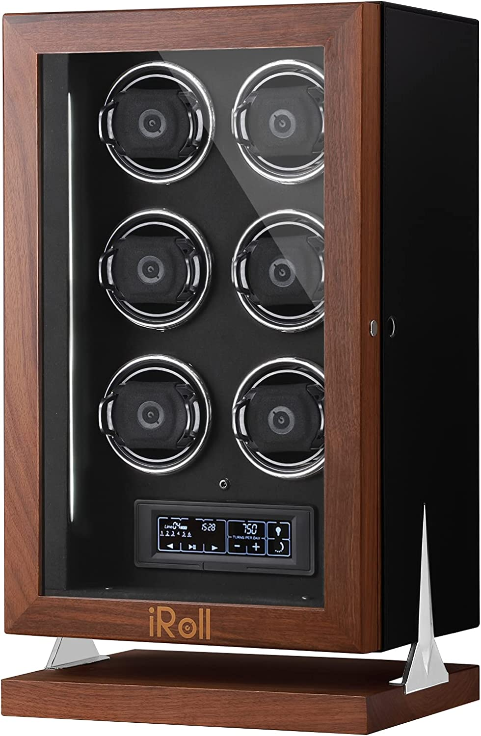 Popular overseas iRoll Watch Winder for Discount mail order 4 6 J Ultra-Quiet 12 Automatic with