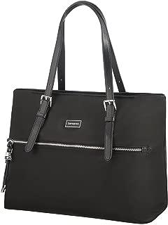 SAMSONITE Karissa - Shopping Bag M Canvas & Beach Tote Bag, 38 cm, Black