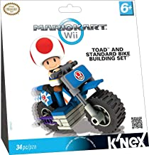 K'NEX Nintendo Mario Kart Wii Toad Bike Building Set