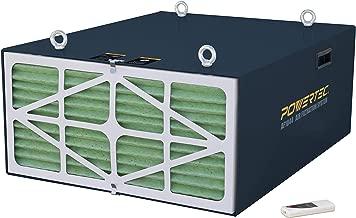 POWERTEC AF1044 Remote Controlled 3-Speed Air Filtration System (556/702/1044 CFM)