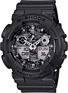 Casio G-Shock Duo/Chrono Grey And Camo Ga100Cf-8A Watch