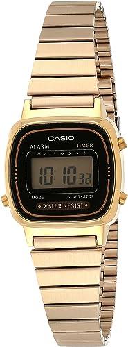 Casio Montre Femme Digitale – LA670WGA-1DF