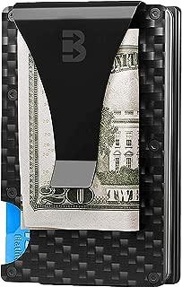 Carbon Fiber Money Clip Wallet - Minimalist Rfid Blocking Wallet