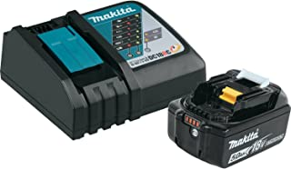Makita BL1850BDC1  LXT Lithium-Ion Battery and Charger Starter Pack, 18V