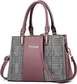 Handbags for Women Shoulder Tote Purses Fashion Ladies Top Handle Satchel Designer Bags