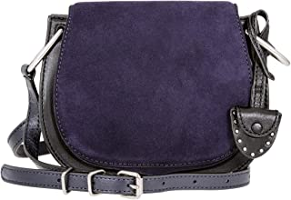 Rebecca Minkoff Crossbody Ladies Small Dark Blue Leather Shoulder Bag HF17FCBL30-001
