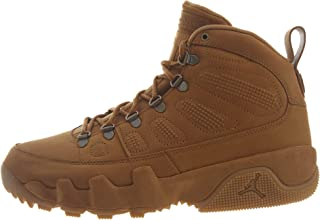 Nike Mens Air Jordan 9 Retro Boot NRG Wheat/Brown AR4491-700 (Size: 10)
